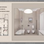 Проект интерьера одной из квартир
